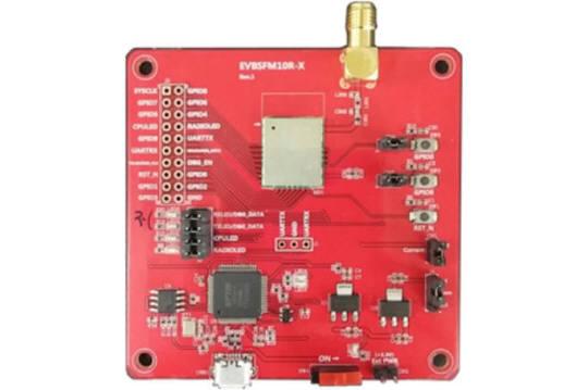 와이솔 시그폭스 IoT 통신모듈이 탑재된 개발 보드