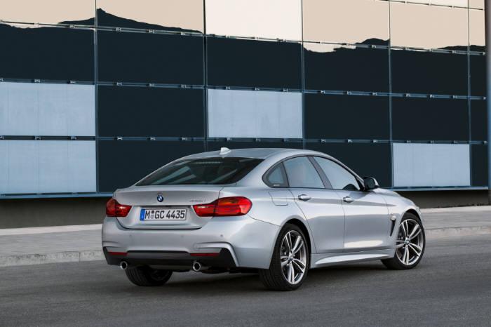 BMW 4시리즈 그란쿠페 뒷모습 (제공=BMW코리아)