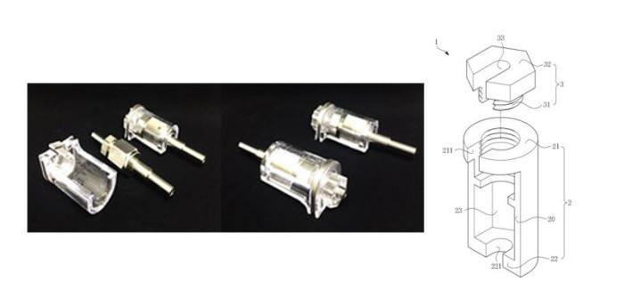 (왼쪽부터)쏠락의 `피팅용 투명 락 디바이스`, `배관 피팅용 풀림 방지구` 특허(등록번호: 10-1519382) / 자료:키프리스
