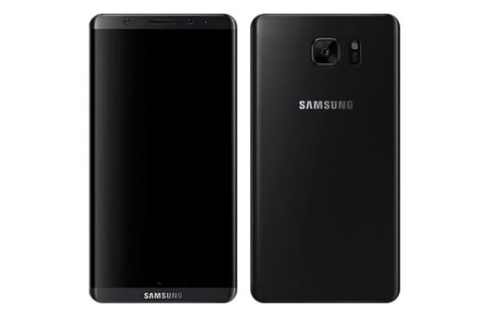 갤럭시S8으로 추정되는 스마트폰 렌더링 이미지.