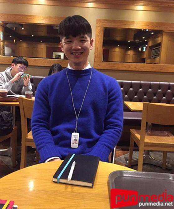 아모레퍼시픽 MASS전략팀에서 근무 중인 박상범씨