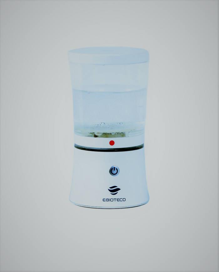 이바이오테코가 개발한 구강 세정제 제조기기 '이바이오 클리너'