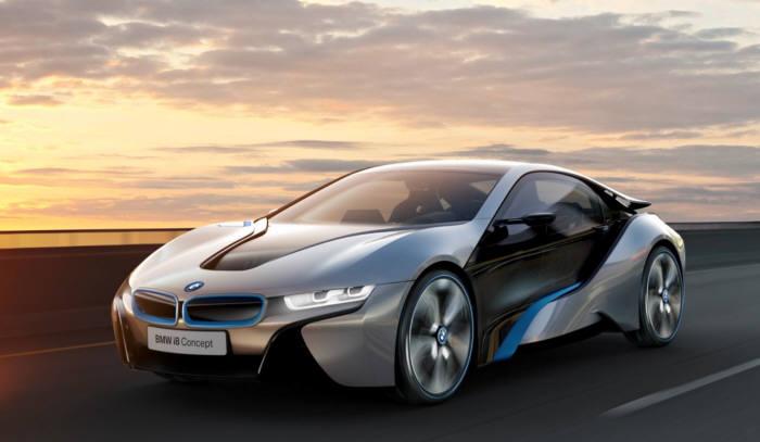 BMW 'i8'.