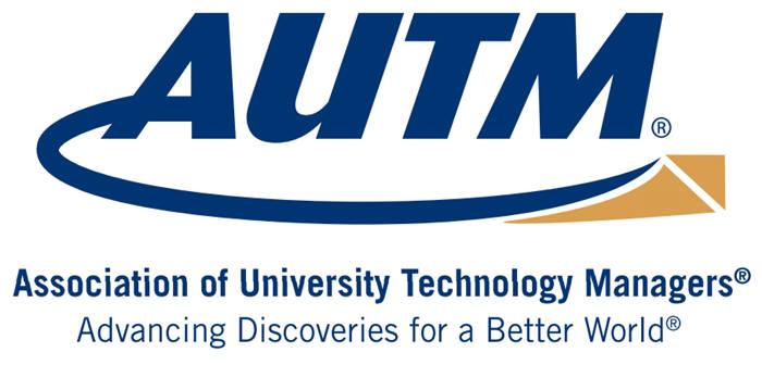 미국 대학기술관리자협회(AUTM) 로고