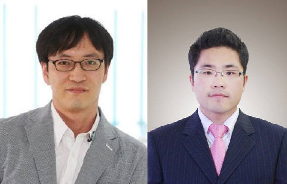 조성호 KAIST w전산학부 교수(왼쪽), 김병형 박사과정