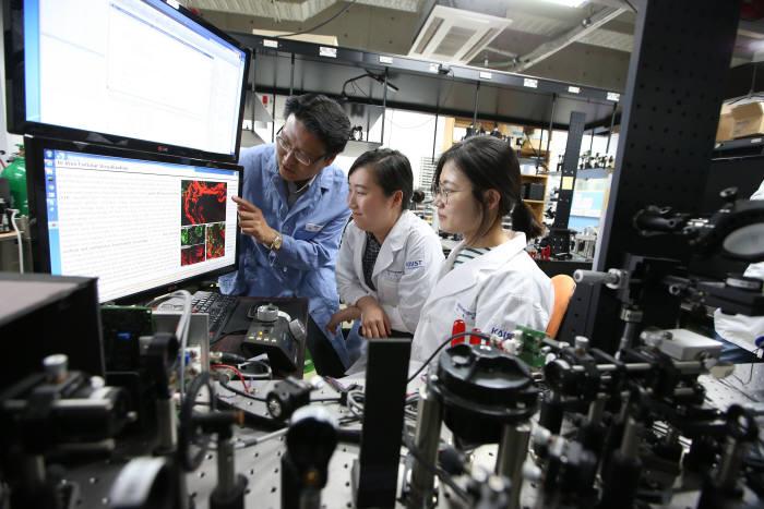 KAIST, 초고속 레이저 생체현미경 상용화
