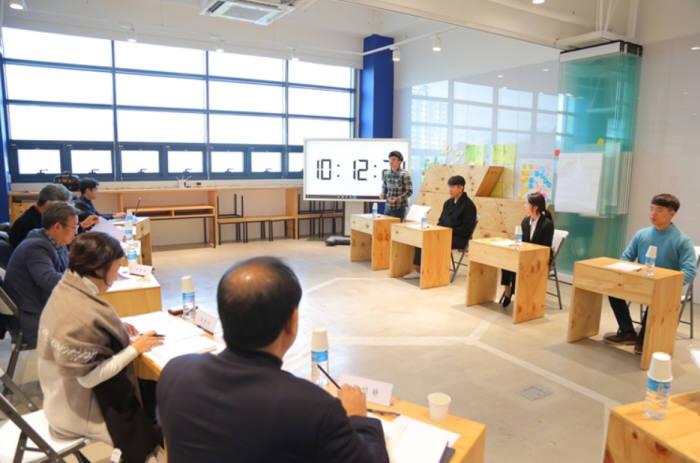 한국오라클 인턴십 추천을 위한 면접이 지난주 죽전캠퍼스 SW디자인융합센터에서 열렸다.