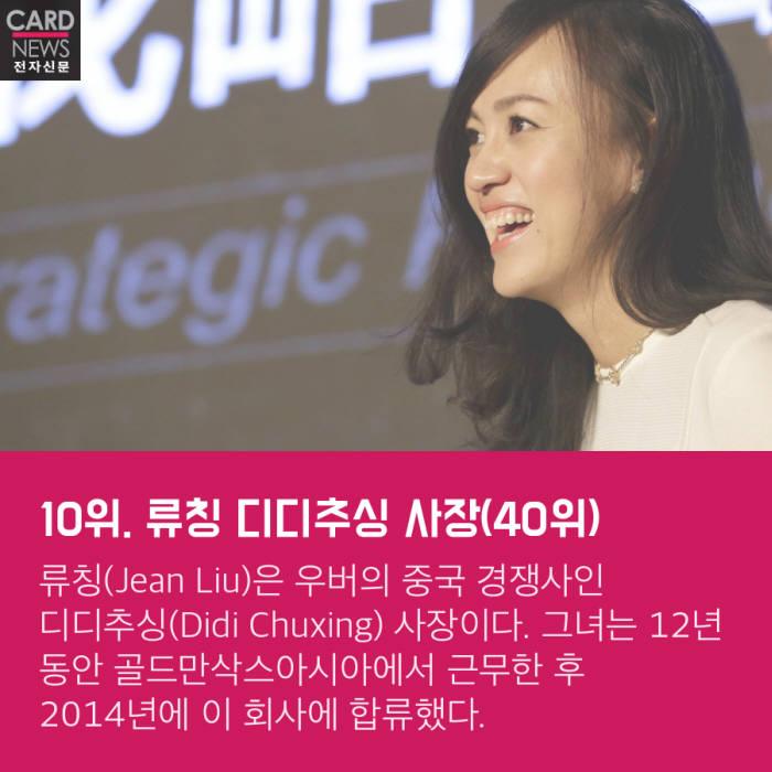 [카드뉴스]올해 IT업계 가장 영향력 있는 여성 10인