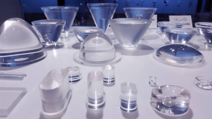 아이엘사이언스가 개발한 LED 실리콘렌즈