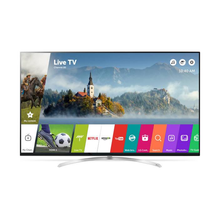 웹OS 3.5 버전을 적용한 LG전자 스마트 TV