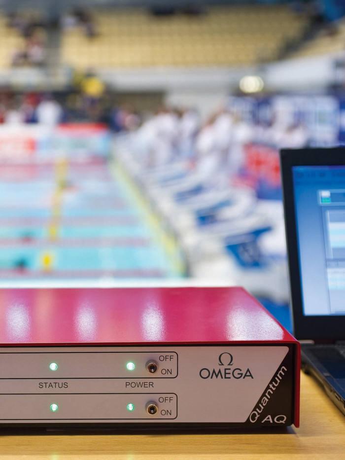 사진 1. 리우올림픽 때와 마찬가지로 평창올림픽에서도 0.0001초의 순간을 가려줄 오메가의 퀀텀 타이머. (출처: 오메가 홈페이지)