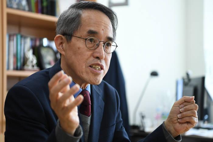 김형중 고려대학교 암호화폐연구센터장. 사진=이동근기자 foto@etnews.com
