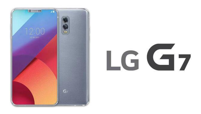 해외 온라인 커뮤니티에서 루머를 종합해 만든 LG G7 예상 이미지.