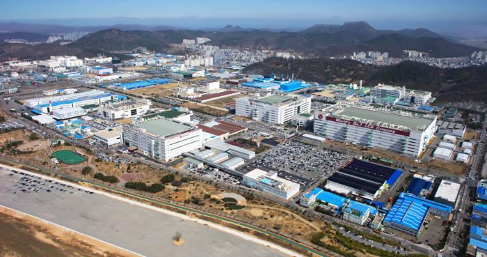 LG디스플레이 구미 공장 전경 (자료: LG디스플레이)