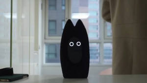 친구와 소통하게 돕는 로봇 '프리보'