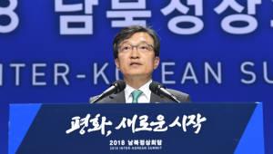 브리핑하는 김의겸 청와대 대변인