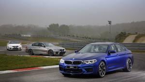 BMW 고성능차 기술 집약체 '뉴 M5' 서킷을 달리다