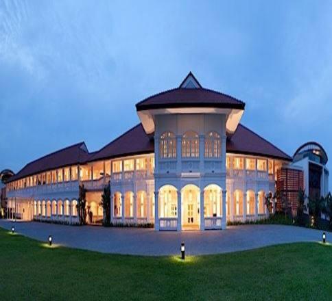 북미정상회담이 열리는 싱가포르 카펠라호텔 전경. <출처: 호텔 홈페이지>