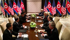회담 지지율, 미국 70%, 한국 81%