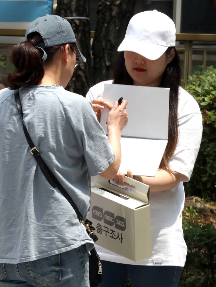 [6·13 지방선거]투표도 하고 출구조사도 하고