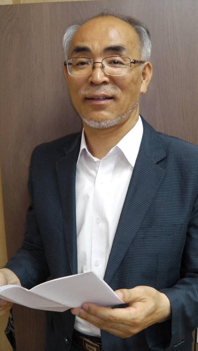 """김기선 GIST 교수는 """"정보통신기술(ICT) 융합의 영역은 무한하다""""면서 """"정부가 세계 최고인 ICT 융합형 연구개발(R&D) 과제에 대한 투자를 더욱 확대했으면 한다""""고 말했다."""