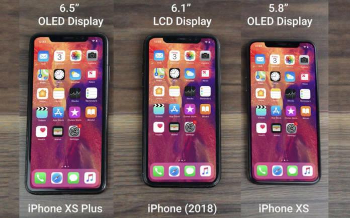 외신이 예상한 신형 아이폰 3종 렌더링 이미지.