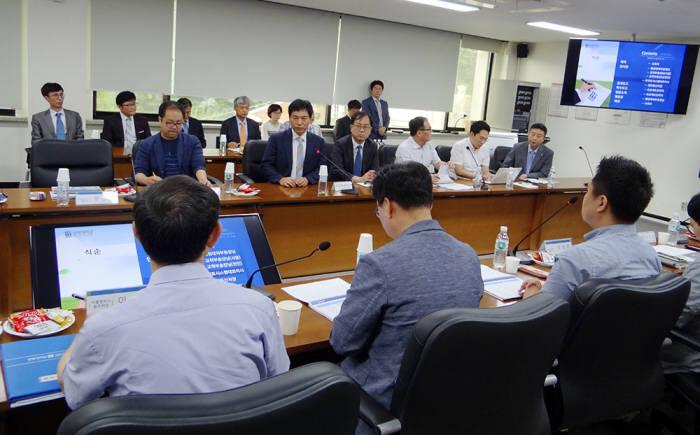 상명대학교 통합정보시스템 구축 1단계 사업 착수보고회