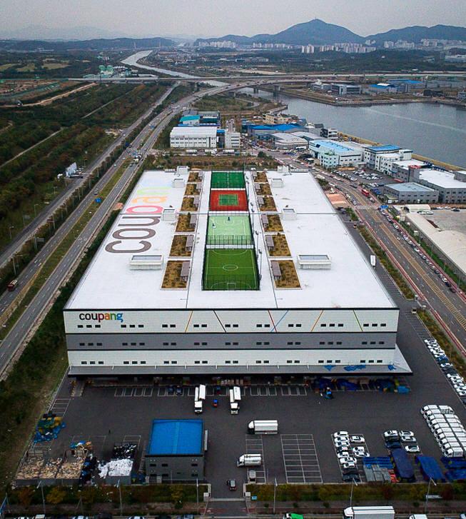 쿠팡 인천 물류센터(메가센터)