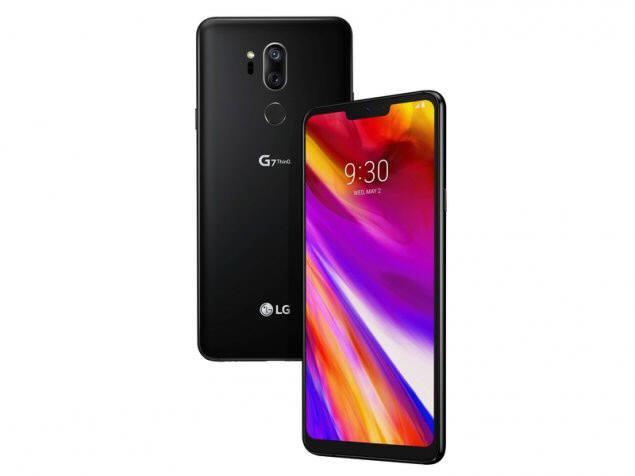 LG전자는 다음달 G7(사진) 파생 저가형 스마트폰을 내놓을 예정이다. 이 때문에 하반기 전략폰 V40 출하 계획을 보수적으로 잡았다.