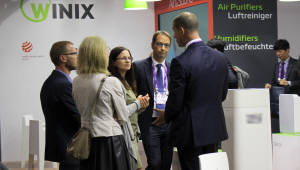 위닉스, IFA 2018 4년 연속 참가…유럽시장 진출에 탄력