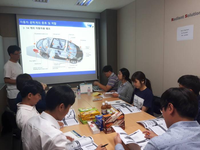 한국광기술원은 지난 2014년부터 국가인적자원개발 컨소시엄에 참여해 LED융합 R&D전문인력 양성을 추진하고 있다.