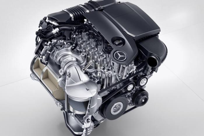 메르세데스-벤츠 신형 OM654 디젤 엔진 (제공=메르세데스-벤츠)