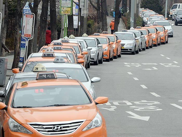 택시 이미지