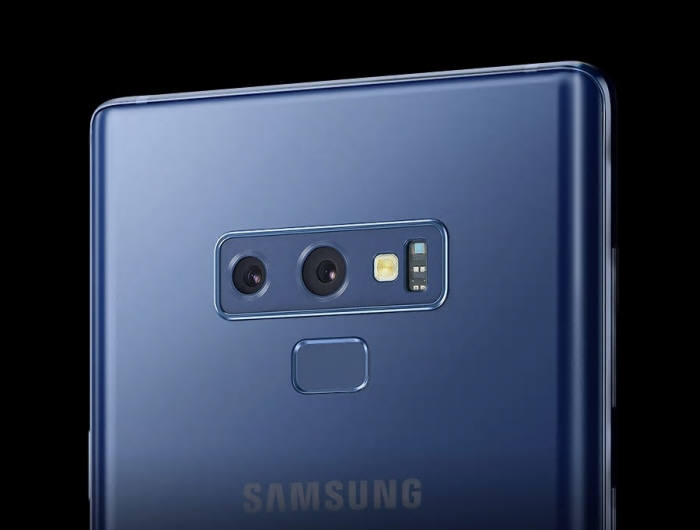 갤럭시노트9에 적용된 듀얼 카메라. 내년 삼성 스마트폰 일부 모델에는 카메라 외 3D 인식을 위한 또 다른 센서가 추가될 전망이다.(사진: 삼성전자)