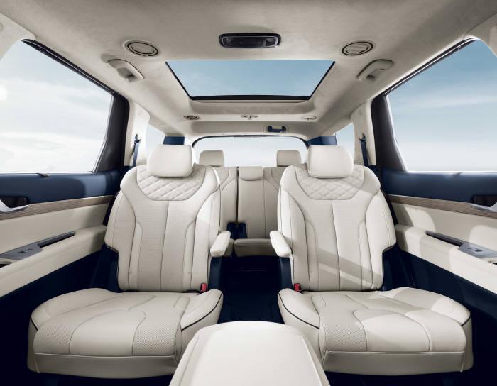 현대자동차 대형 SUV 팰리세이드 인테리어 (제공=현대자동차)