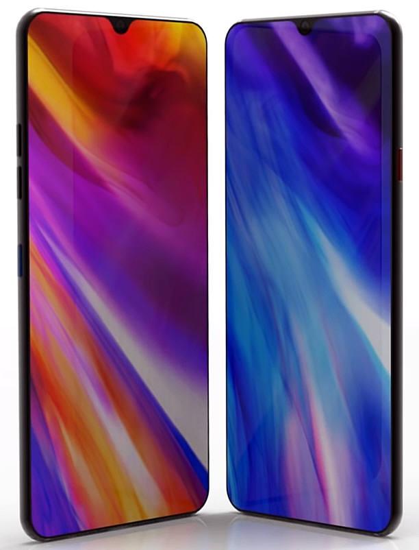 LG G8 콘셉트 이미지.