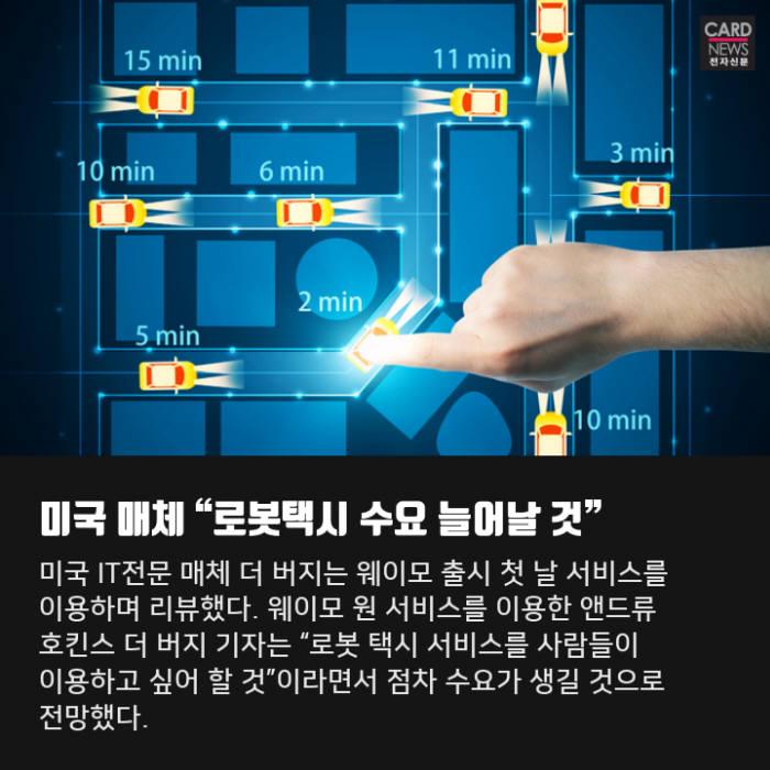 [카드뉴스]자율주행 택시, 영업 개시...이용객 반응은