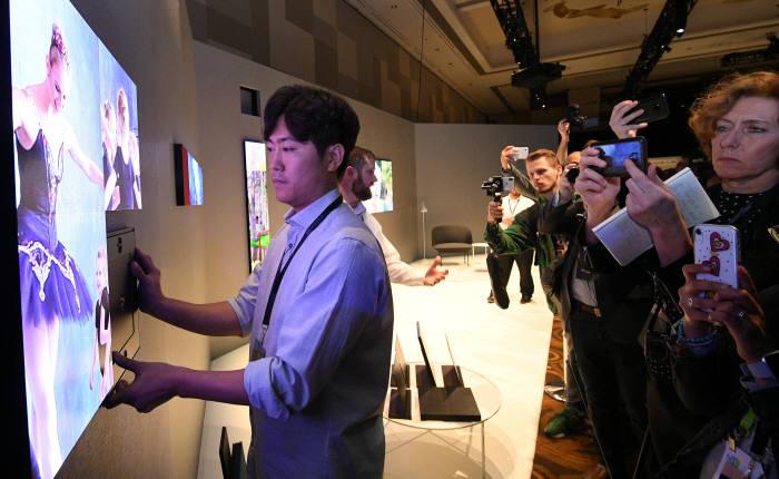 [CES 2019]삼성이 선보이는 마이크로 LED 스크린
