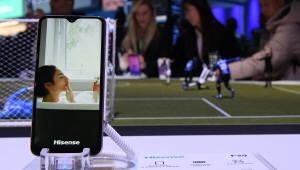 폴더블폰, 8K TV CES에 나온 중국제품은 어떤것?