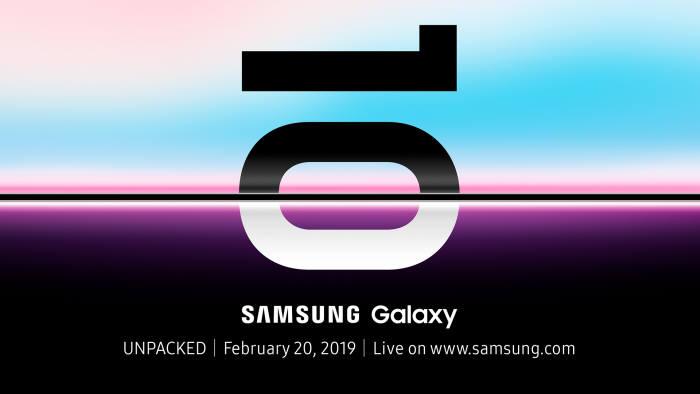 삼성전자가 글로벌 미디어·파트너에 배포한 갤럭시S10 언팩 초대장.