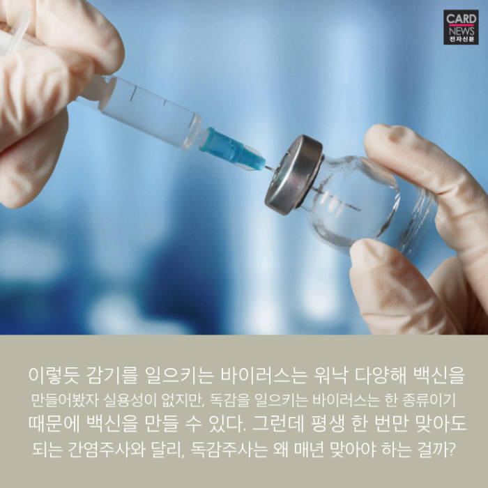 [카드뉴스]독감, 그냥 '감기 쯤'으로 넘기시나요?