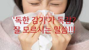 독감, 그냥 '감기 쯤'으로 넘기시나요?