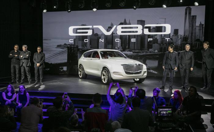제네시스 SUV 콘셉트카 GV80 콘셉트(제공=현대자동차)