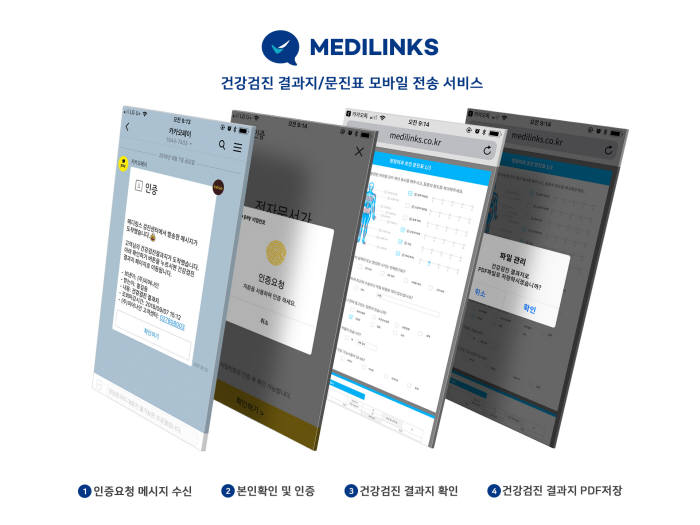 """""""카톡 건강검진 서비스 무료 사용""""…건강검진 모바일 서비스 '메디링스' 프로모션"""