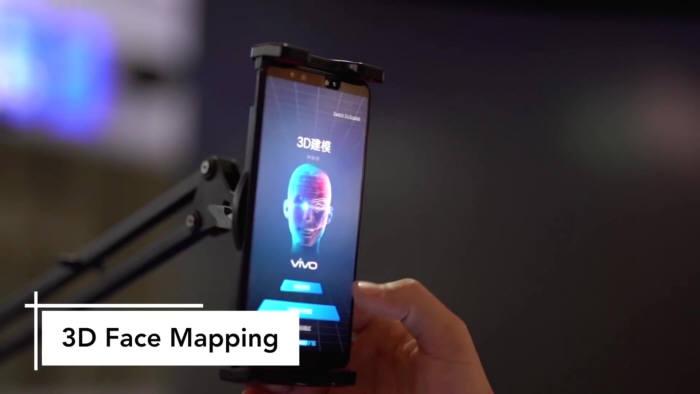 비과시간법(ToF) 3D 심도 카메라를 활용한 매핑 기술 [사진=Vivo]
