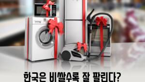 한국은 비쌀수록 잘 팔린다?