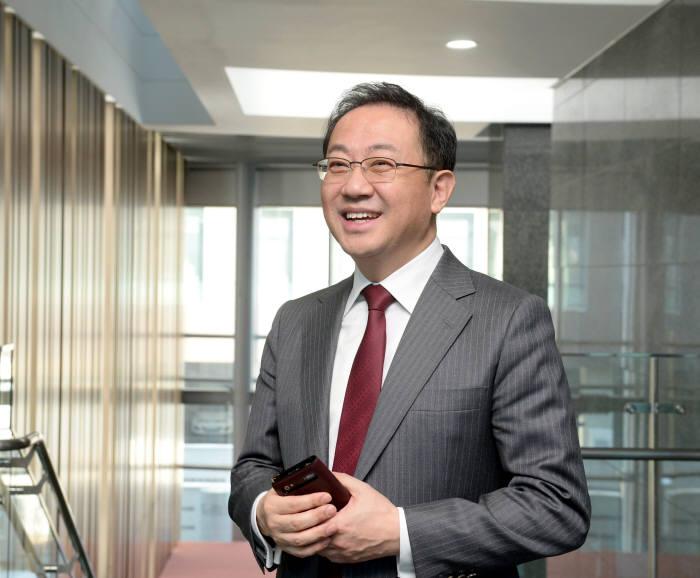 안건준 벤처기업협회장.