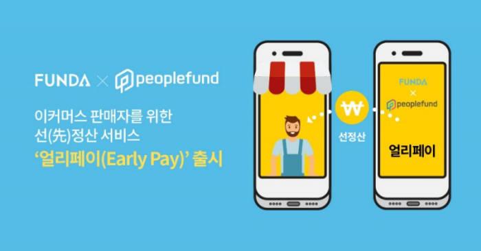 펀다와 피플펀드가 위메프에서 선보인 선 정산 서비스 얼리페이