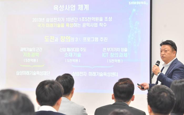 삼성 미래기술육성사업 설명