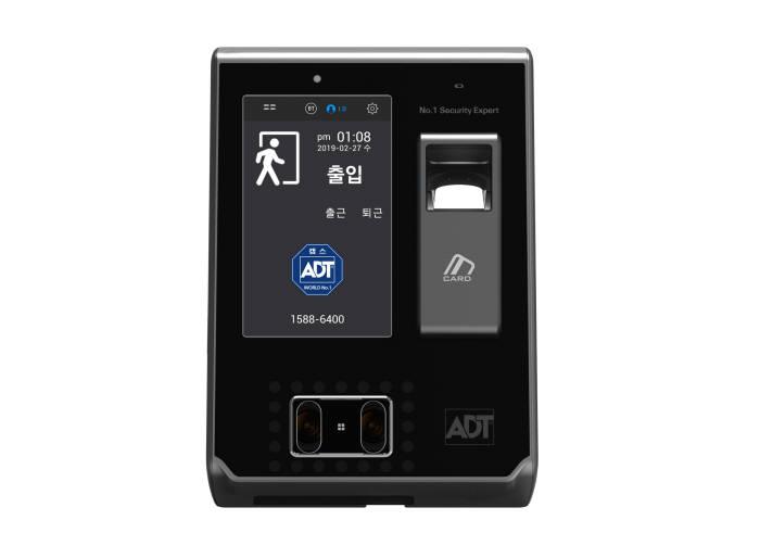 ADT캡스, 카드·얼굴·지문 인식 가능한 '복합생체인식기 FR-810B' 출시
